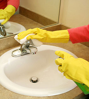 Bathroom Cleaning Tips, Palm Harbor, Florida