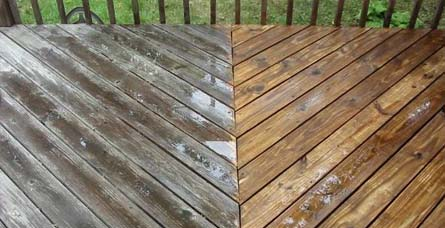Deck Care Pressure Washing